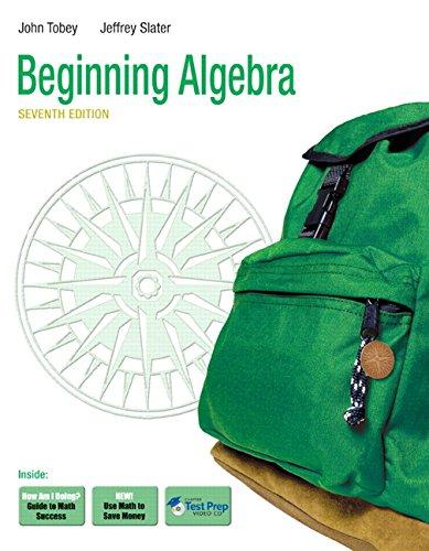 9780321573759: Beginning Algebra (7th Edition)