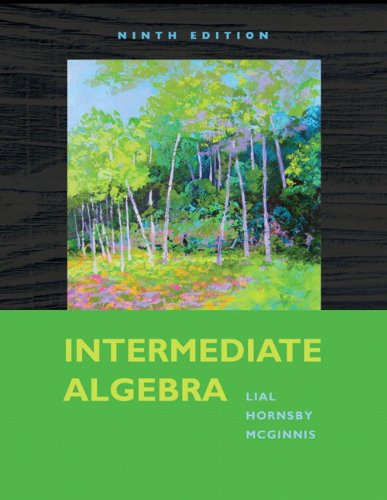 9780321574978: Intermediate Algebra (9th Edition)