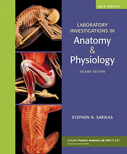 9780321575159: Laboratory Investigations in Anatomy & Physiology, Main Version (2nd Edition)