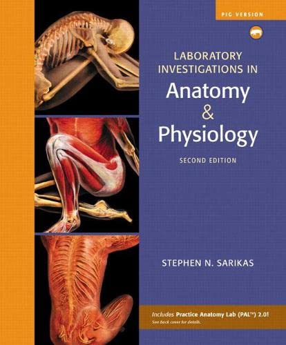 Laboratory Investigations in Anatomy and Physiology: Sarikas, Stephen N.