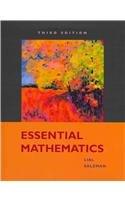 9780321575807: Essential Mathematics Plus MyMathLab Student Access Kit (3rd Edition)
