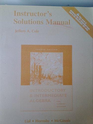 introductory and intermediate algebra