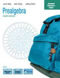 9780321576903: Prealgebra