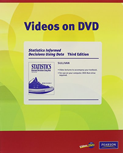 9780321577214: Videos on DVD for Statistics: Informed Decisions Using Data