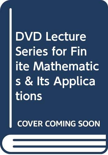 DVD Lecture Series for Finite Mathematics &: Goldstein, Larry J.,