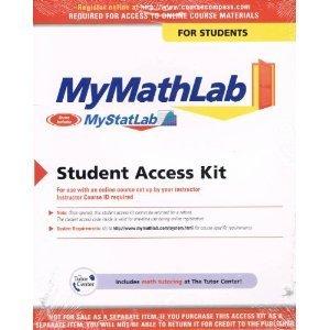 9780321578075: MyMathLab Plus Student Access Kit (standalone)