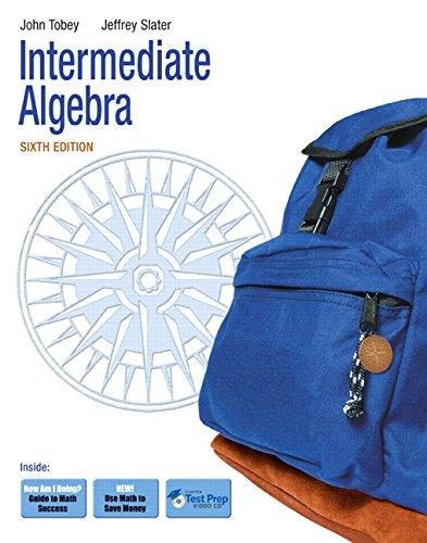 9780321578297: Intermediate Algebra (6th Edition)