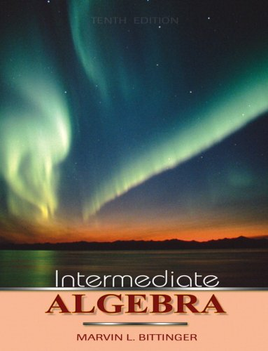 9780321578600: Intermediate Algebra Value Pack (includes Students Solutions Manual & Digital Video Tutor with Optional Captioning)