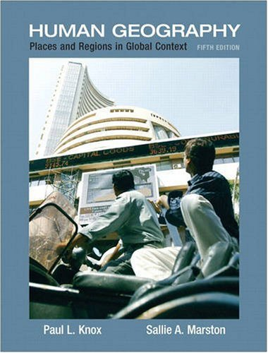 9780321580023: Places and Regions in Global Context: Human Geography