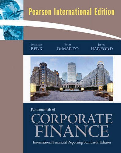 9780321580412: Fundamentals of Corporate Finance: International Financial Reporting Standards Edition