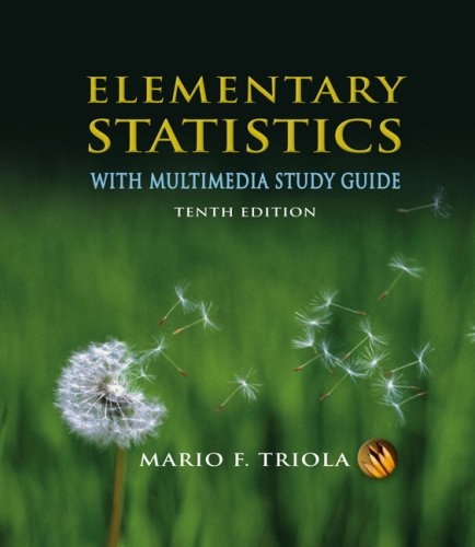 9780321580764: Elementary Statistics With Multimedia Study Guide Value Pack (includes SPSS 16.0 Student Version for Windows & MyMathLab/MyStatLab Student Access Kit )