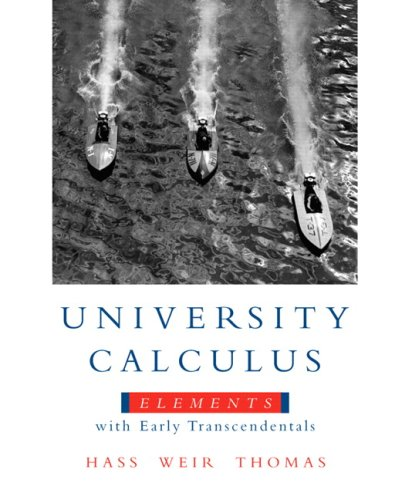 9780321582720: University Calculus: Elements with Early Transcendentals Value Pack (includes MyMathLab/MyStatLab Student Access Kit & Student's Solutions Manual ... Elements with Early Transcendentals)