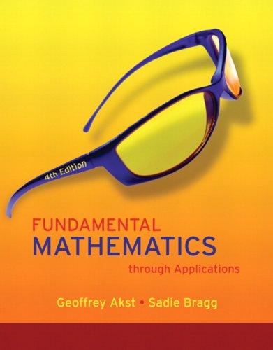 9780321583611: Fundamental Mathematics through Applications Value Pack (includes Math Study Skills & MathXL 12-month Student Access Kit ) (4th Edition)