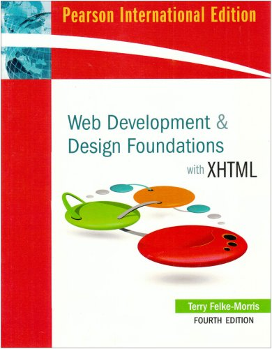 9780321583703: Web Development and Design Foundations with XHTML