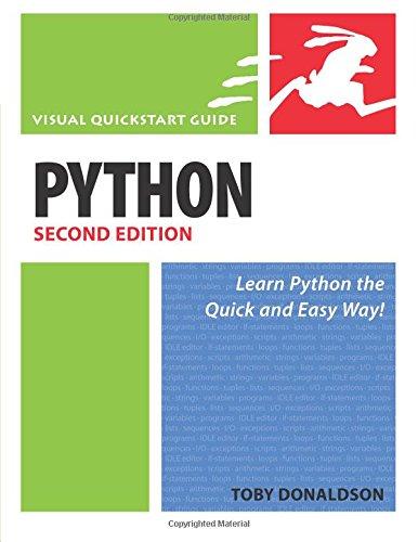 9780321585448: Python: Visual QuickStart Guide (2nd Edition)