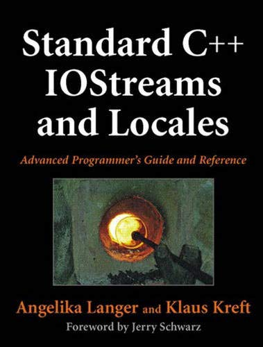 9780321585585: Standard C++ IOStreams and Locales: Advanced Programmer's Guide and Reference