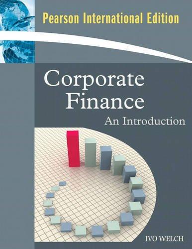 9780321587275: Corporate Finance: An Introduction: International Edition