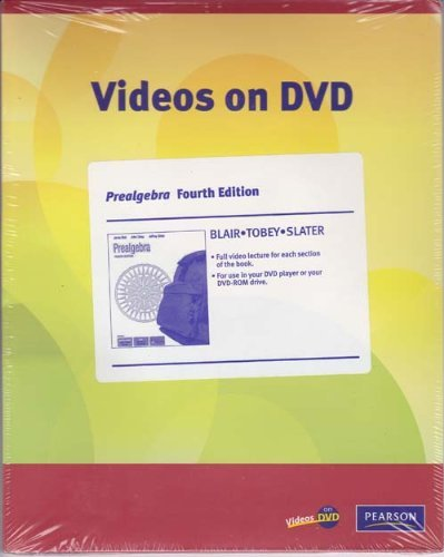 Videos on DVD for Prealgebra: Jamie Blair, John