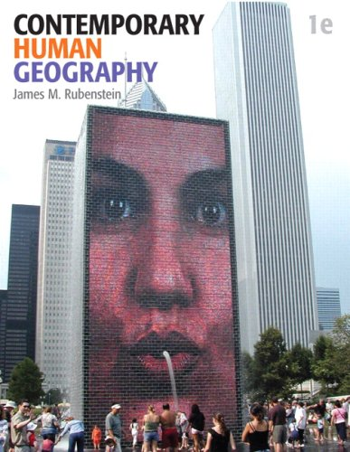 9780321590039: Contemporary Human Geography