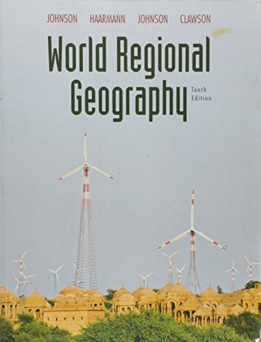 9780321590046: World Regional Geography (10th Edition)