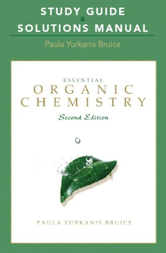 9780321592583: Study Guide and Solutions Manual for Essential Organic Chemistry