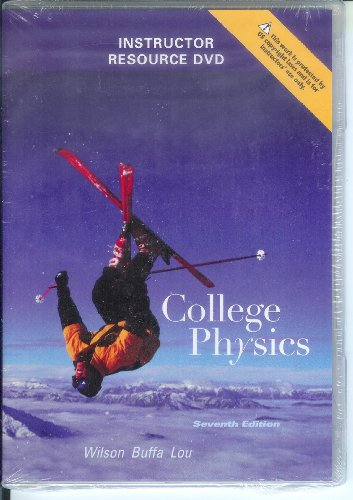 9780321592736: College Physics Instructor Resource DVD 7th Edition