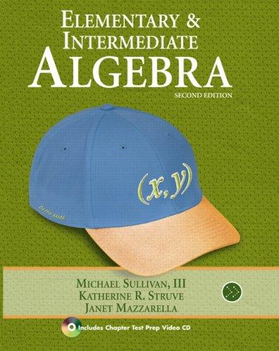 9780321593092: Elementary & Intermediate Algebra (2nd Edition)