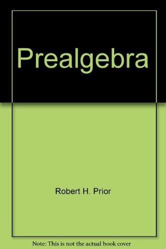 9780321594082: Prealgebra