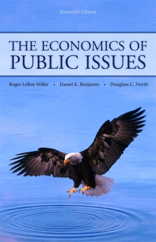 9780321594556: The Economics of Public Issues (16th Edition)