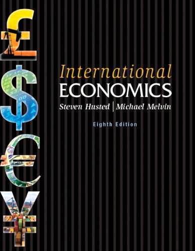 International Economics (8th Edition): Husted, Steven; Melvin,