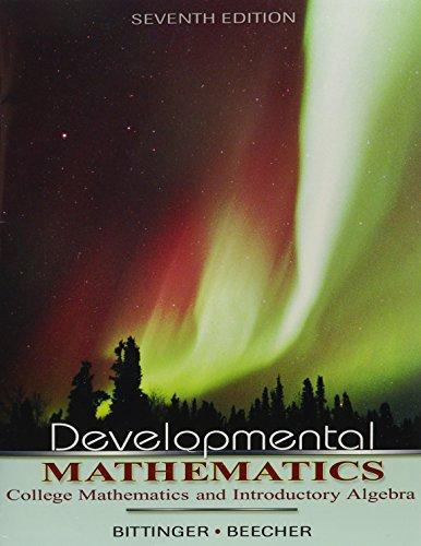 9780321594679: Developmental Mathematics, Books a la Carte Edition (7th Edition)