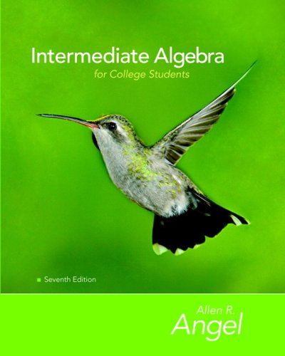 9780321595416: Intermediate Algebra for College Students Value Package (includes Math XL CD)