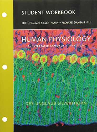 Student Workbook for Human Physiology : An: Damian Hill; Dee