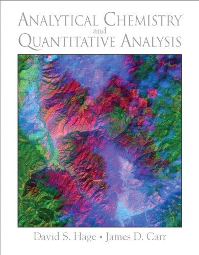 9780321596949: Analytical Chemistry and Quantitative Analysis