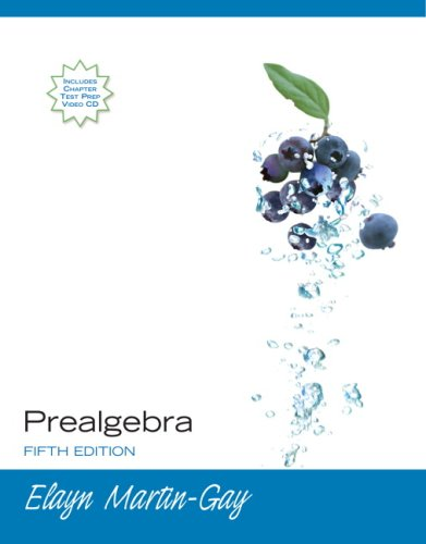 9780321598035: Prealgebra Value Package (includes MathXL 12-month Student Access Kit)