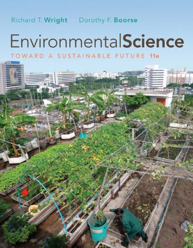 9780321598707: Environmental Science: Toward a Sustainable Future (11th Edition)