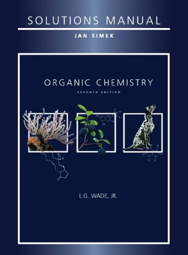 9780321598714: Solutions Manual for Organic Chemistry, 7th Edition