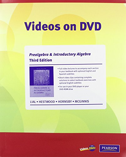 Videos on DVD with Optional Captioning for: McGinnis, Terry, Hornsby,