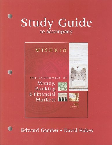 9780321600011: Study Guide for The Economics of Money, Banking, and Financial Markets