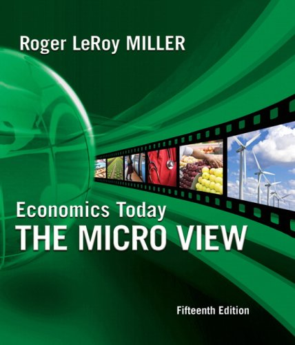 9780321600189: Economics Today: The Micro View plus MyEconLab 1-semester Student Access Kit (15th Edition)