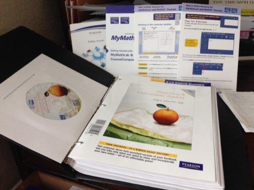 9780321600493: Beginning &Intermediate Algebra, Books a la Carte Edition (4th Edition)