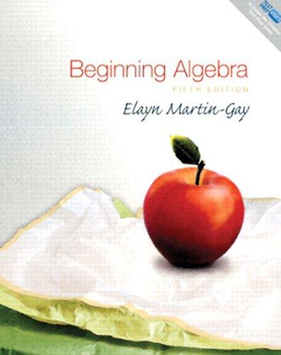 9780321600516: Beginning Algebra: Books a La Carte Edition