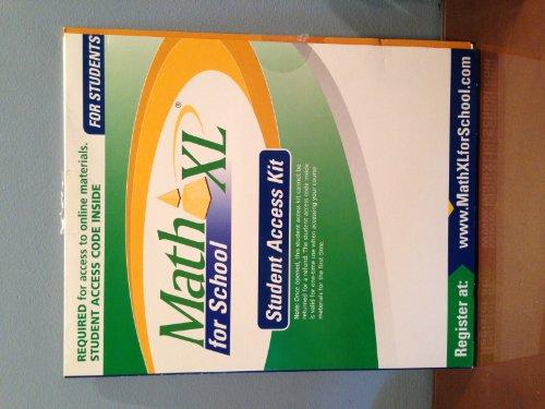 9780321600554: Math XL for School