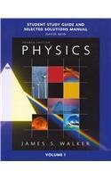 9780321602008: Study Guide and Selected Solutions Manual for Physics, Volume 1