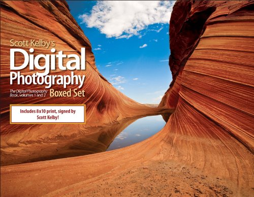9780321603531: Scott Kelby's Digital Photography Boxed Set, Volumes 1 and 2, (Offered Exclusively by Amazon) (Includes The Digital Photography Book Volume 1, The ... Book Volume 2, and Limited Signed Print)