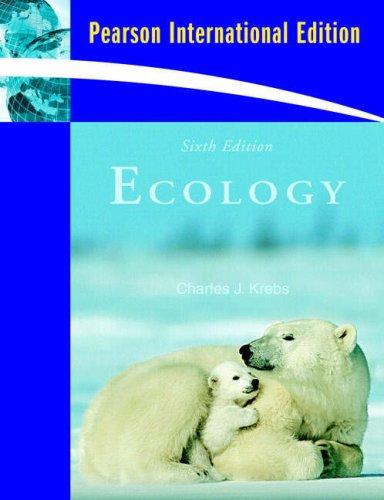 9780321604682: Ecology: The Experimental Analysis of Distribution and Abundance