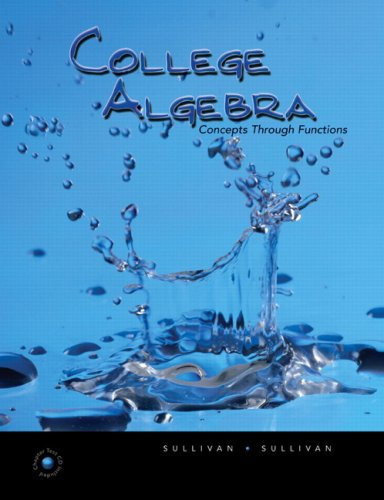 9780321606105: College Algebra: Concepts Through Functions Value Package (includes MyMathLab for WebCT Student Access Kit)