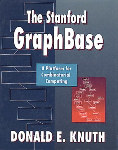 9780321606327: Stanford GraphBase: A Platform for Combinatorial Computing, The