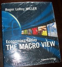 Economics Today: The Macro View plus MyEconLab in CourseCompass Student Access Kit (15th Edition): ...