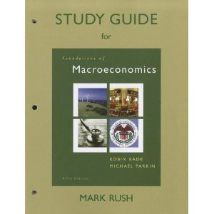 9780321608574: Study Guide for Macroeconomics